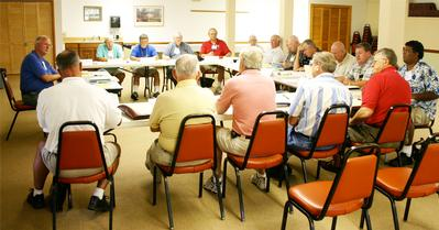 A Meeting of the Synod Men's Ministry Committee
